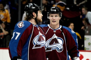 Ryan O'Reilly and Gabriel Landeskog. (Photo: Lindsay Akkiyama, flickr.)