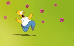 Donuts_and_homer_by_mirry92