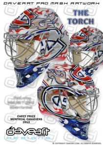 Goalie Mask Sunday: Montreal Canadiens Carey Price