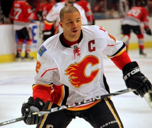 Jarome Iginla. (Photo credit: Hockey Broad. flickr.)