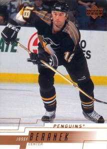 Beranek in his NHL days.