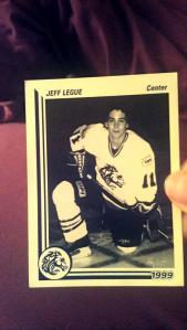 Legue in his Colts days. (Photo: MarchHockey)