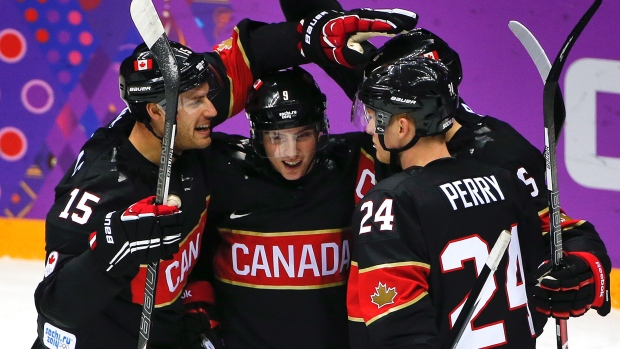 Top five Team Canada squads