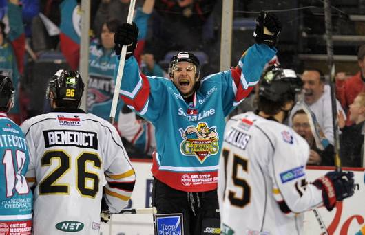 One on One with Belfast Giant, KevinSaurette