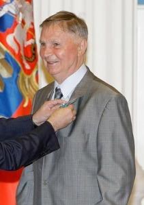 Tikhonov in 2010.
