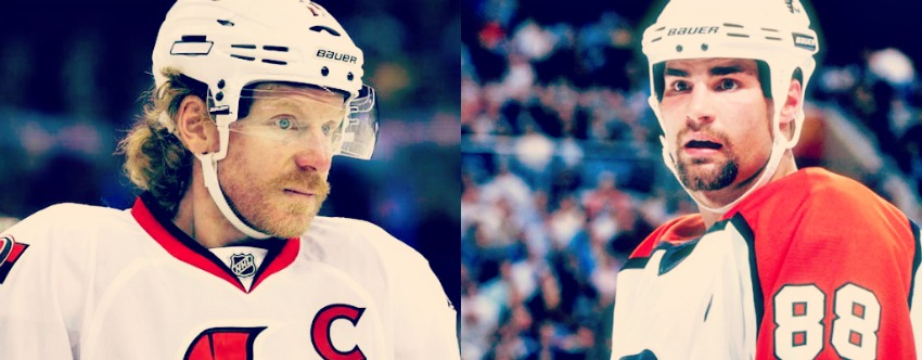 Who deserves the Hockey Hall of Fame first? Eric Lindros or Daniel Alfredsson