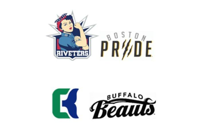 The best nickname we can come up with for a professional women's hockey team is Beauts?