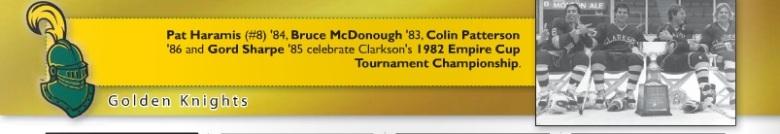 2013-2014 Clarkson University Hockey Media guide.