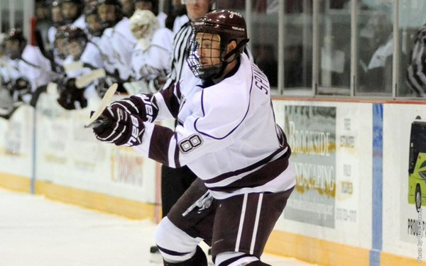 Tyson Spink earns Colgate University milestone