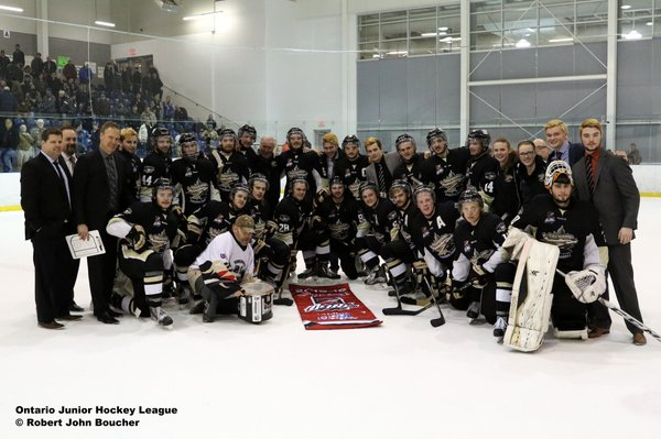 TRENTON GOLDEN HAWKS FLY TO THE OJHL BUCKLAND CUP