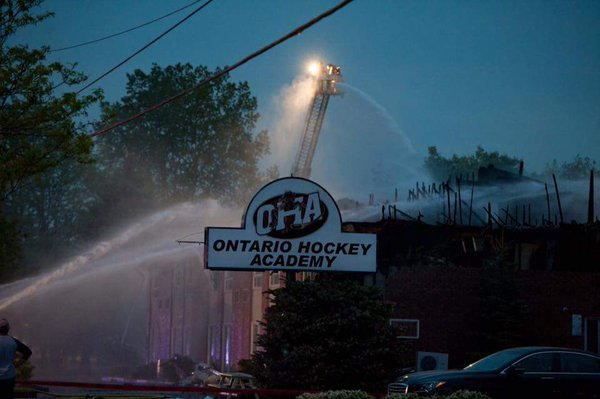 ONTARIO HOCKEY ACADEMY FIRE – HOCKEY FAMILY IN NEED